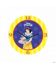 Personalized Snow White Clock - Round