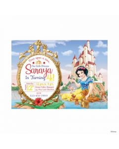 Snow White Theme E-Invitations