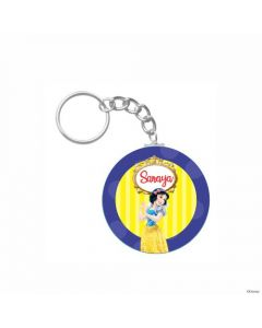 Personalized Snow White Keychain