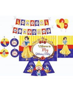 Snow White Decorations Package - 70 pieces