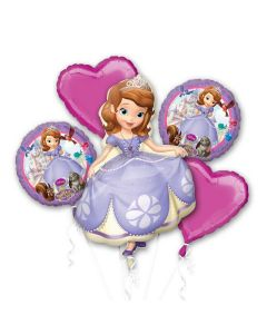 Sofia the First Foil Balloon - Pack of 5
