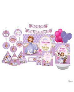 Disney Sofia the first Enchanted Garden Party Party Decorations