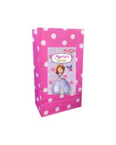 Sofia the first Enchanted Garden Party Popcorn Bag