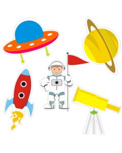Space Theme Cutouts