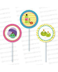 Spa Cupcake / Food Toppers