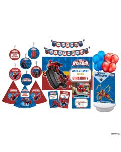 Marvel Spider Man Party Decorations