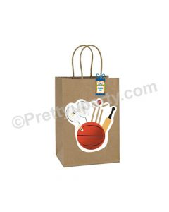 Sports Theme Gift Bags - Pack of 10