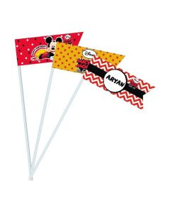 mickey mouse drink straws