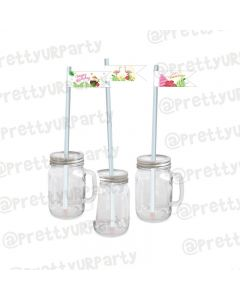 Flamingo Theme Drink Straws