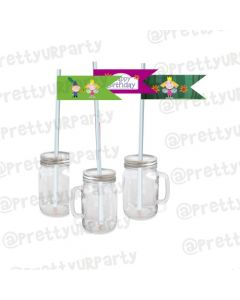 Ben and Holly's Little Kingdom Theme Drink Straws