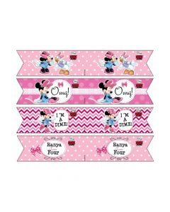 Minnie Mouse Drink Straws
