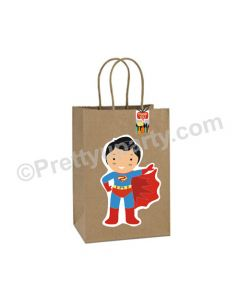 Superhero Theme Gift Bags - Pack of 10
