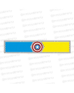 superhero theme wrist bands