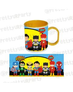Personalised Inside Colour Superhero Mug