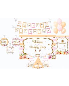 Swan Decorations Package - 70 pieces