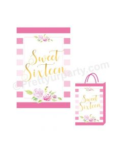 Sweet Sixteen Theme Khoi Bag