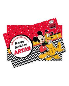 mickey mouse table mats