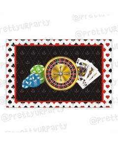 Casino Night Table mats