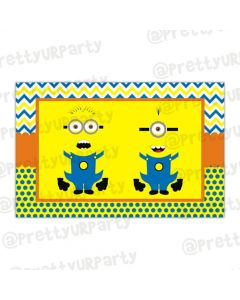 Despicable Me Minions table mats