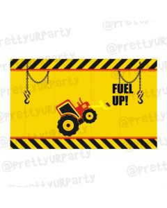 New Construction Theme Table Mats