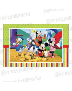 Mickey Mouse Clubhouse Inspired Table Mats