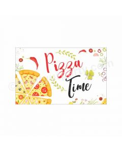 Pizza Party Theme Table Mats