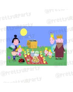 Ben and Holly's Little Kingdom Theme Table Mats