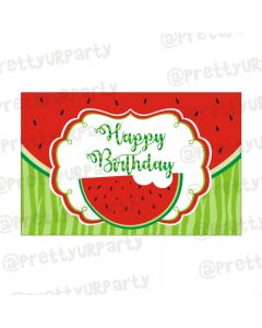 Watermelon Theme Table Mats