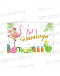 Flamingo Theme Table Mats