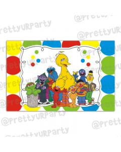 Elmo Theme Table Mats