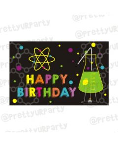 Mad Scientist Theme Table Mats