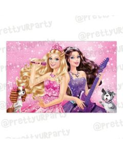 Barbie Rockstar Table Mats