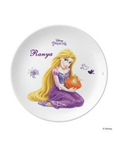 Disney Tangled / Rapunzel Personalised Plate