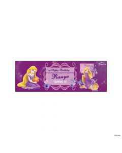 Personalized Tangled / Rapunzel Birthday Banner 36in