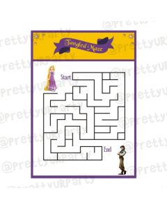 Tangled Maze Game