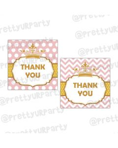 Royal Princess Thankyou Cards