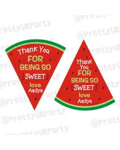 Watermelon Theme Thankyou Cards
