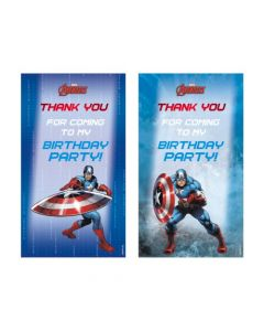 Captain America Thankyou Cards