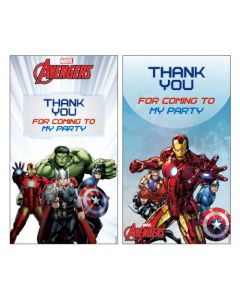 Avengers Thankyou Cards