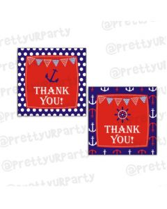 Nautical Theme Thankyou Cards