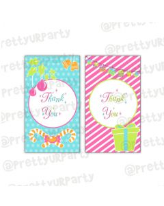 Merry and Bright Thankyou Cards