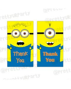 Despicable Me Minions Thankyou cards