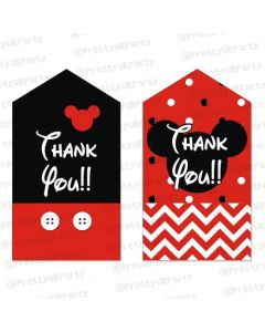 Mickey Mouse Inspired Thankyou Cards