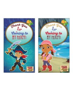 Captain Jake and the Neverland Thankyou Cards