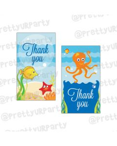 Under the Sea Thankyou Cards