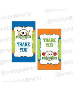 Sports Thankyou Cards