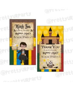 Harry Potter Thankyou Cards