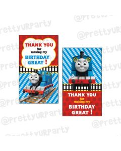Thomas the Train Thankyou Cards