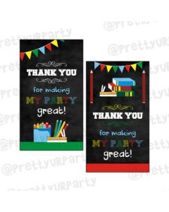 Back to School Thankyou Cards