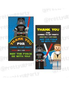 Star Wars Inspired Thankyou Cards